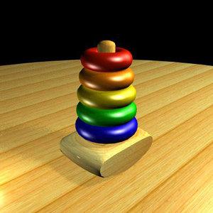 3d toy torus model