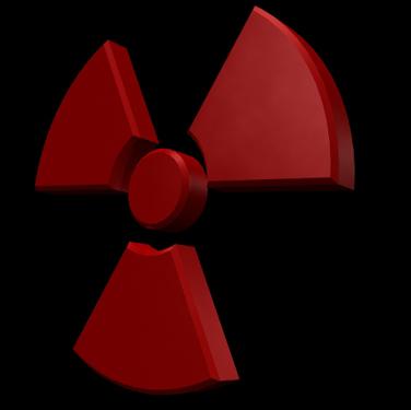radiation symbol lwo