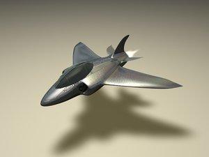c4d aeroplane fighter