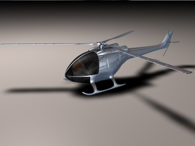 c4d helicopter
