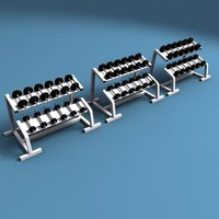 Dumbell Weights Rack