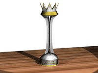 3d model trophies league