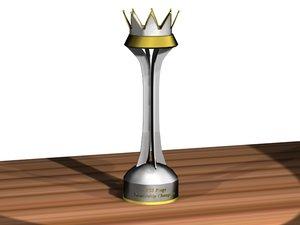 3d model trophies league