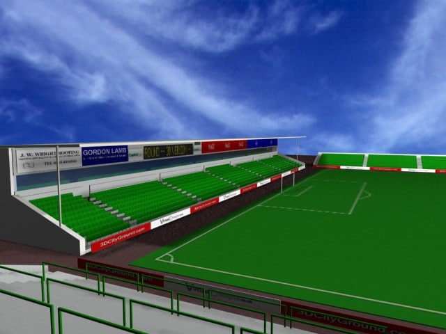 ground pitch 3d model