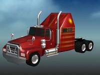3dsmax big truck