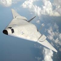 3ds max long range strike fighter