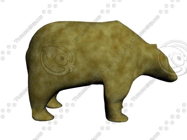 3d max bear fur