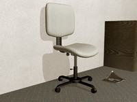 3ds max 4 office chair