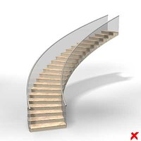 3d stairs staircase