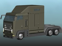 3d truck just