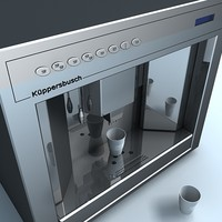 coffee machine 3d model
