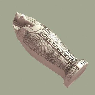 3ds max mummy sarcophogus