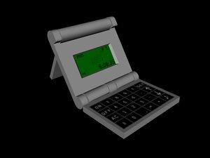 maya calculator clock