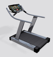 treadmill exercise 3d max