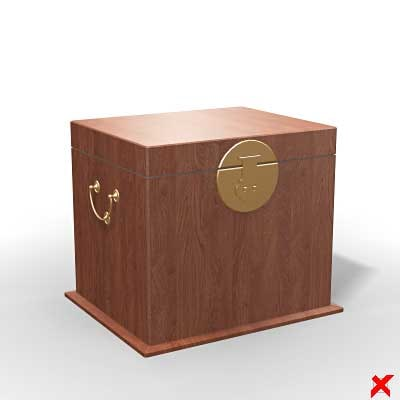 chest box 3d max