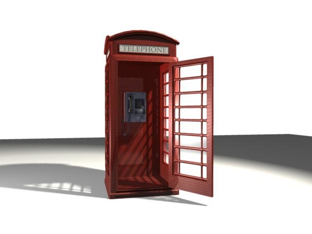 maya telephone booth