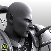 Fantasy - Warrior - 3DS