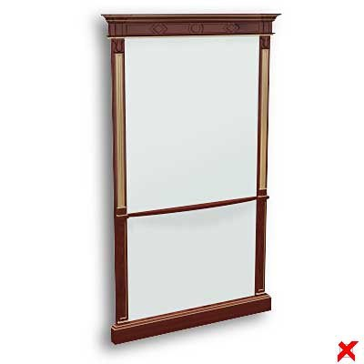 mirror furniture 3d max