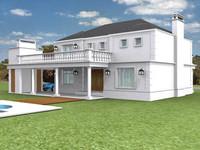 3d model house studio