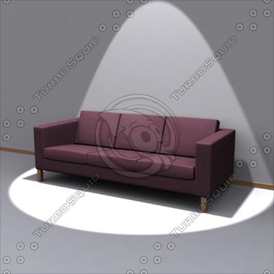 Ikea Karlanda Sofa 3d Model