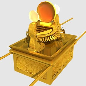 ark covenant 10 3d model