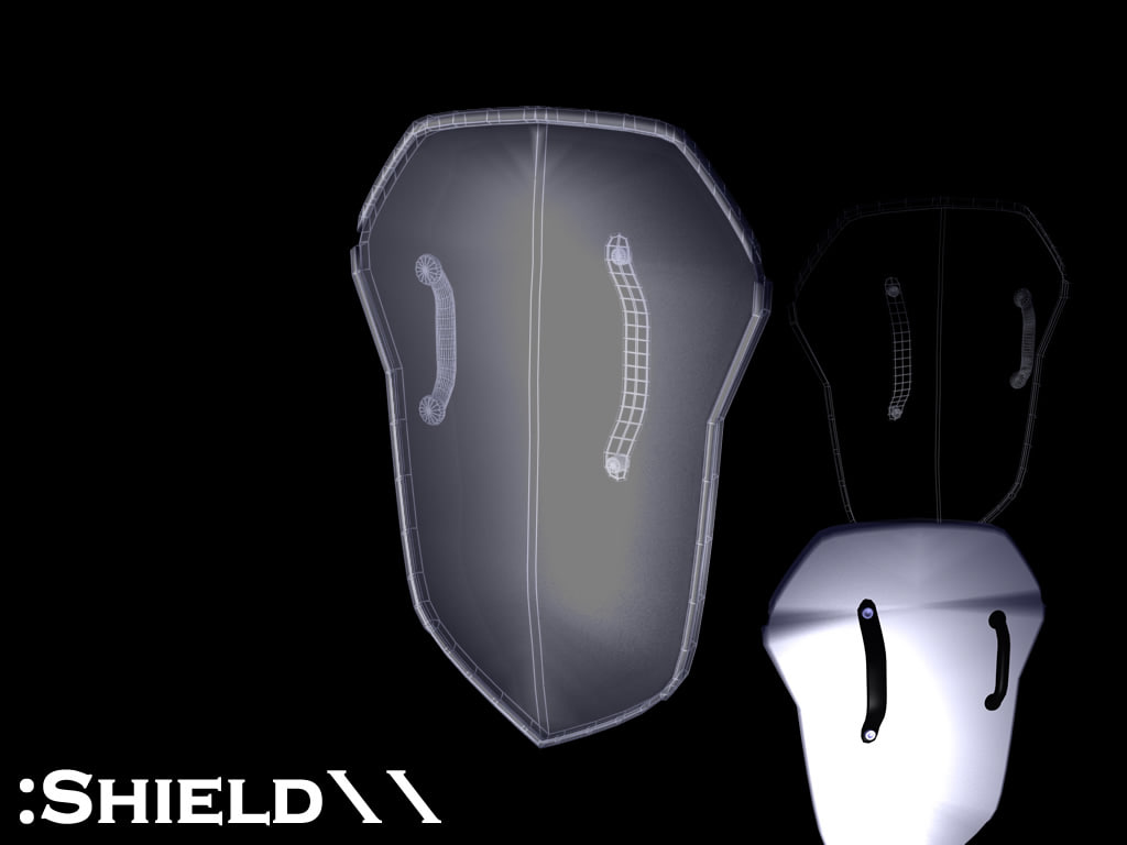 free 3ds model shield