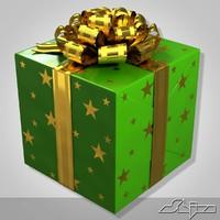 Gift Box 1 Green