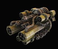 3d turret laser
