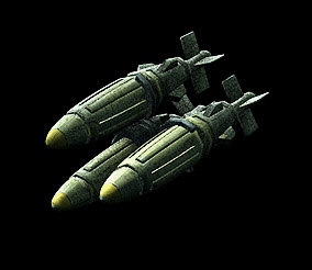 free c4d model sci-fi missile