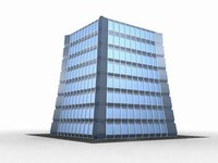 office building 3d max