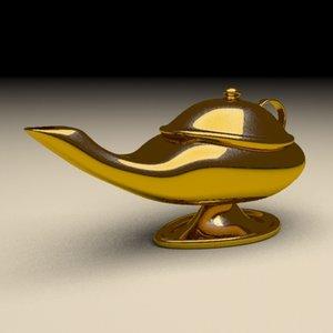 maya magic lamp