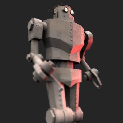 3d max old robot