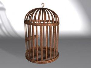 bird cage 3d ma