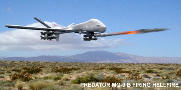 predator mq-9b uav 3d model