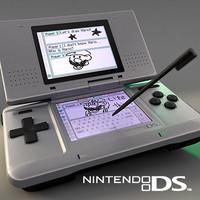 console ds 3d model