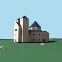 w3d simple church