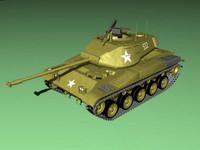 3d m41 m 41 model
