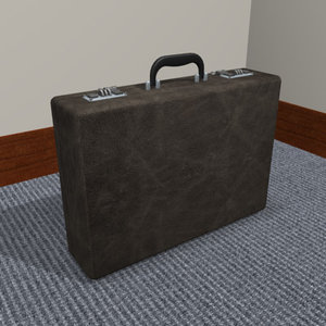 3d model briefcase office