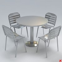 3d table set