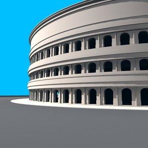 3dsmax colisseum rome