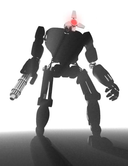 terminator xtreme droids rigged 3d max