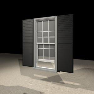 2452 window 3d max