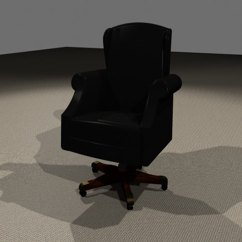 boardroom chair 3d max