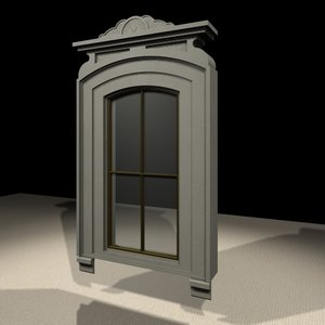 3ds max gothic window