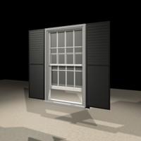 3d model 3052 window