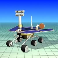 free rover mars 3d model