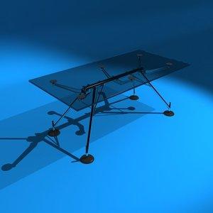 nomos table 3d model