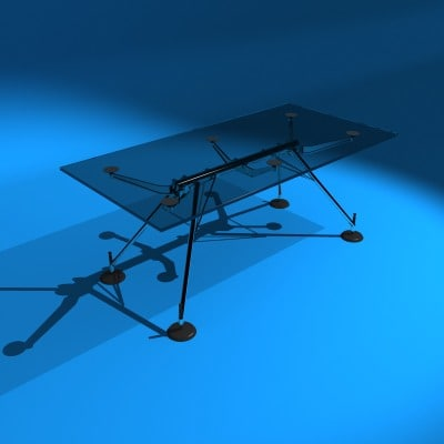 nomos table 3d model