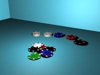 3d scene poker