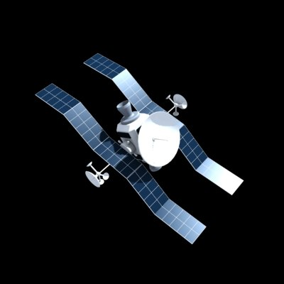 satellite dxf